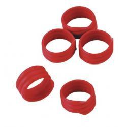 6006018 anelli identificativi galline rosso