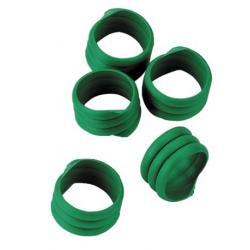 6006019 anelli identificativi galline verde