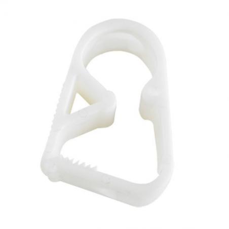 Clip di chiusura in plastica