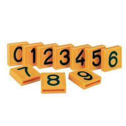Numeri per collari identificativi bovini