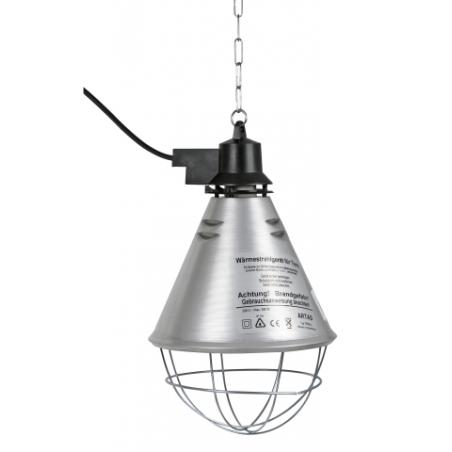 Small aluminum lamp holder