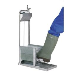 Boots washer for breeders and veterinarians