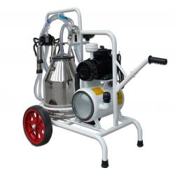 1 group cattle milking machine with 1 bin