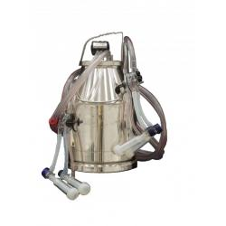 Replacement stainless steel bucket for sheep and goats