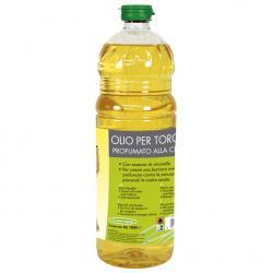 Olio alla citronella per torce contro le zanzare