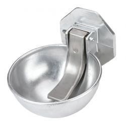Aluminum drinker for water tanks