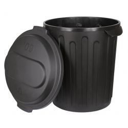 Bidone con coperchio da 60 litri
