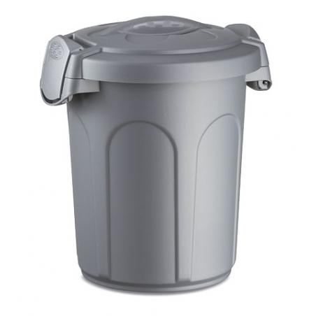 Feed bin with safety lock