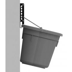 Wall support for buckets