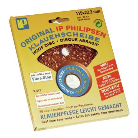 Super abrasive disc, dense grain