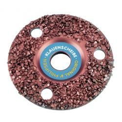 Super abrasive disc, dense grain