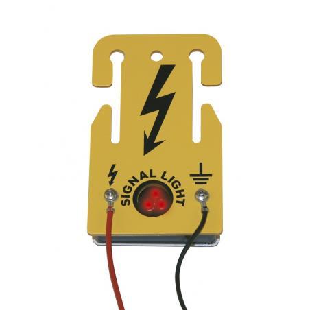 Luce segnalazione funzionamento recinto elettrico