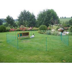 Rete elettrica per piccoli animali da giardino