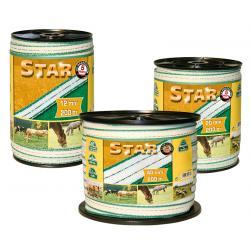 Nastro Star per recinti con rame e acciaio inox