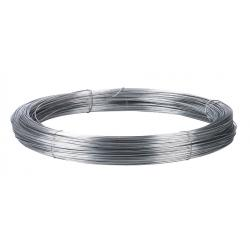 Galvanized steel wire for electric fences