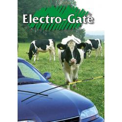 Automatic electric gate for fences