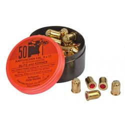 Caliber cartridges 38, for heavy animals