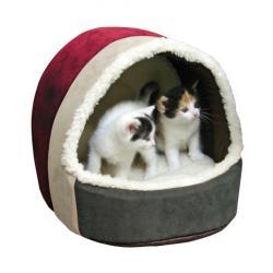 Cuccia di peluche per gatti