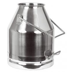 Cubo de leche de acero inoxidable