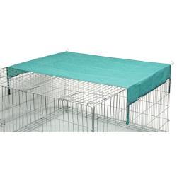 Sunshade for fences