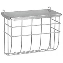 Rack with lid for rabbits