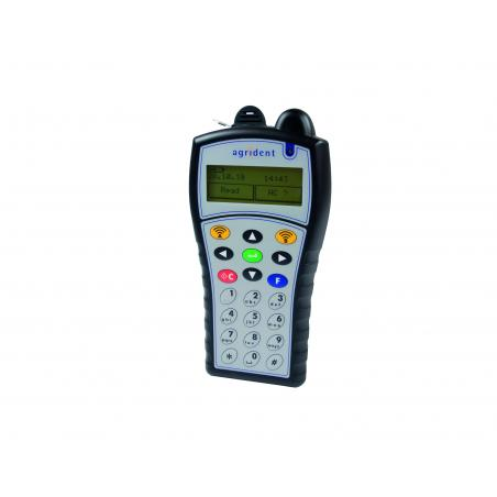 APR500 - portable reader with alphanumeric keyboard