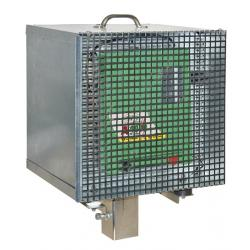 Anti-theft box for fencing electrificator