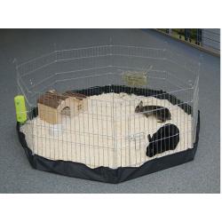 Fondo in nylon per recinto esagonale cuccioli