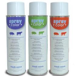 Inchiostro spray Color MediNova per animali