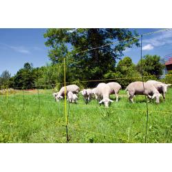 EasyNet electrified network with spacer for sheep and goats