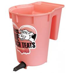 Reversible Peach Teat bottle bucket for calves