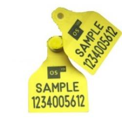 Osid Large Plus ear tags PRINTED