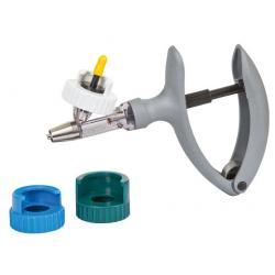 Eco-Matic syringe with adapter set for medical bottles