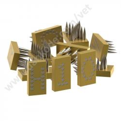 Numbers 7 mm for tattoo clamp