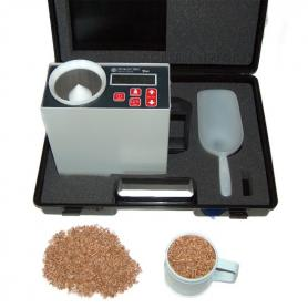 Grain moisture and temperature meter