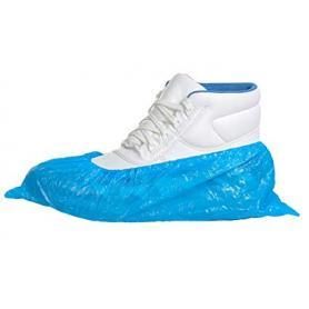 Cubrezapatos desechables con elástico (paquete de 50 pares)
