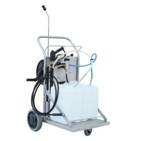 Standard trolley for cleaning and disinfection