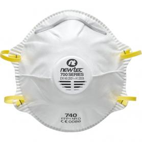 Newtec 740 disposable masks with valve