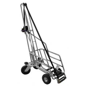 Heavy pig carcass trolley
