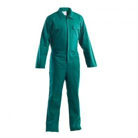 Green cotton overalls