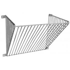 Rejilla de pared para paja barras verticales de 2 cm