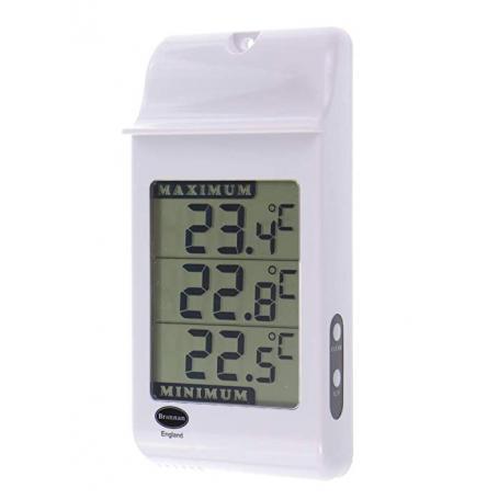 Digital thermometer min/max 160x78