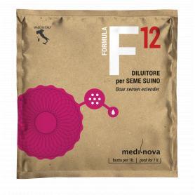 Formula 12 semen extender for conservation of pig semen
