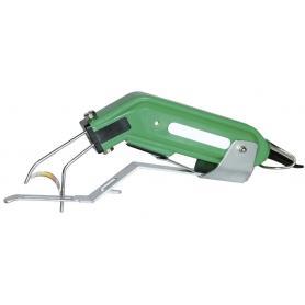 Taglia coda elettrico con supporto blocca coda per maiali