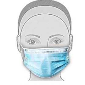 Mascherina protettiva tnt 3 strati